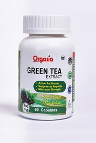 Orgasia Green Tea Extract For Weight Loss (Fat Burner) - 135388277