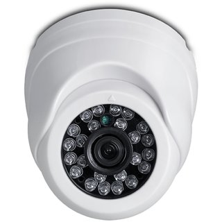 iBall CCTV 720P 1.0MP HD Resolution Dome Camera with Night Vision and IR range u