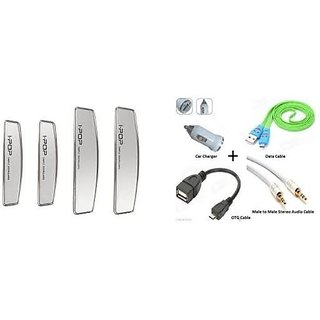 Combo of OTG with Silver I pop Door Guard Universal
