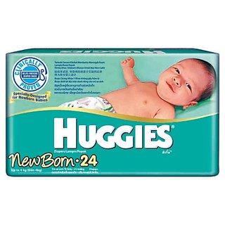 Huggies Newborn Diapers - 24 Pcs (2.6 - 3.9 Kgs)