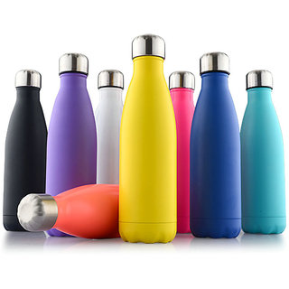 Hydra insulated plastic water bottle 1000ml. 1 unit (colour may vary)