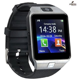 Buy JM New V8 Brown Colour Smart Watch With Sim/Sd Card