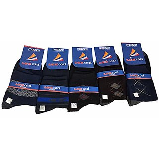 Arrow Men's Casual Ankle Length Cotton Socks Pack Of 5 Pair