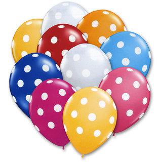 30 pcs Polka Dot Balloons for Birthday, Parties