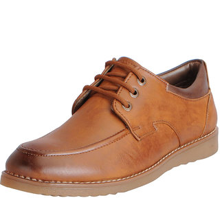 ba3f9444001 Buy Fausto Men's Tan Formal Lace Up Brogue Shoes Online - Get 15% Off