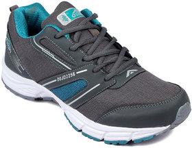 Asian Vector-01 Grey Green Runnning Shoe For Men