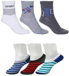 HOME KING sports socks 3 loafer socks 3 pack of 6