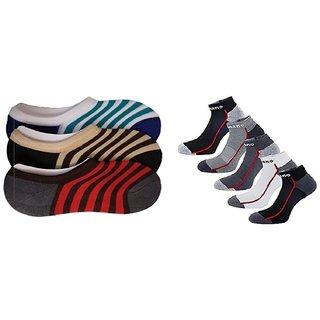 GW HOME KING sports socks 4 loafer socks 3 pack of 7
