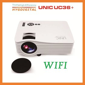 WIFI UNIC UC36+ FULL COLOUR FULL HD LED PROJECTOR ORIGI