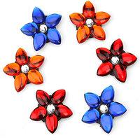 Set Of 6 Floating Flowers