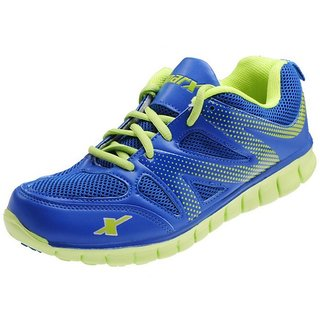 Sparx Avid Blue And Green Sports Shoes Sm 178