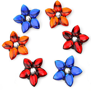 Set of 6 Floating Flowers