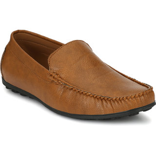 Afrojack Men's Synthetic Leather Loafers