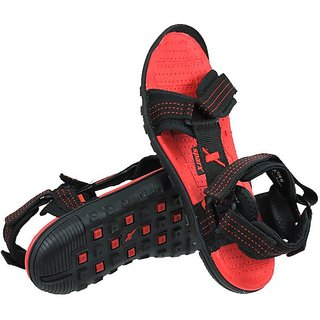 e7b5646a5 Sparx Black   Red Colour Mens Sandals In India - Shopclues Online