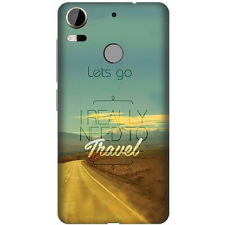 Printland Back Cover For HTC Desire 10 Pro