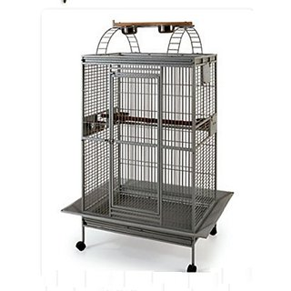 Cage for Grey Parrot, Conure Cockatoo  Eclectus with PlayTop Double Ladder