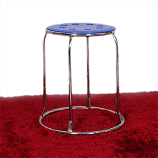 Dark Blue Top Stylish Stool
