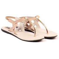 TEN Women's Beige Sandals