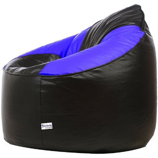 Phenomenal Inkcraft Mudda Chair Blue Black Xxxl Empty Cover Without Beans Ibusinesslaw Wood Chair Design Ideas Ibusinesslaworg