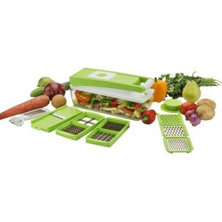 Colonial vegetable chopperwithout container  Shopimoz Nicer and Dicer Green - Large unbreakable container- 11 in 1