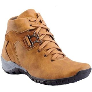 860dc929b60c Buy Big Fox Lace-up Casual Tan Synthetic TPR Boots For Men Online - Get 55%  Off