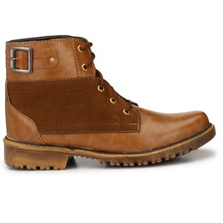 Big Fox Men's High Ankle Boots For Men
