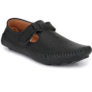 Big Fox Men's Black Sandals