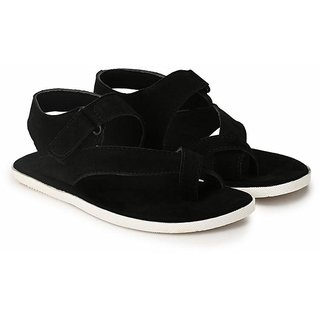 big fox suede leather sandals