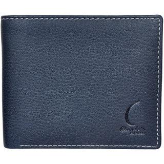 Chandair Pure Leather Dark Blue Mens Wallet (KL-CH-11_1)