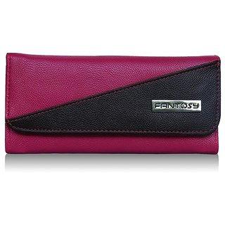 Fantosy pink women wallet