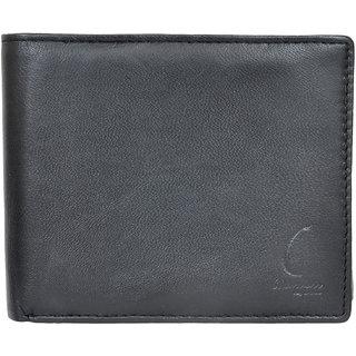 Chandair Pure Leather BLACK Mens Wallet (KL-CH-09_15)