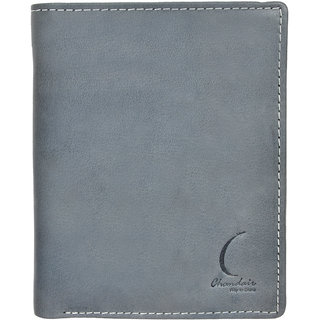 Chandair Pure Leather SPRUCE BLUE Mens Wallet (KL-CH-22_17)