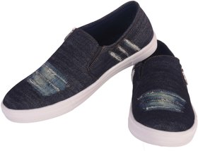 Austrich Blue Canvas Mens shoes