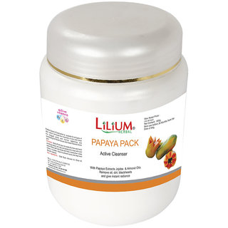 Lilium Papaya Active Cleanser Pack 900g