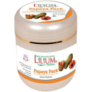 Lilium Papaya Active Cleanser Pack 500ml
