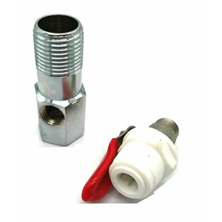 RO Inlet Ball Valve Set 3/8inch Size Pipe suited for RO Water Purifier