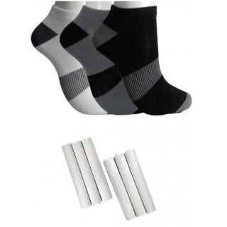 Angel homes 3 Pair Anlke Socks 1 White Hanky