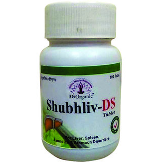 Shubhliv DS Tablet For Healthy Liver  Metabolism 200 Tablets From 3G Organic