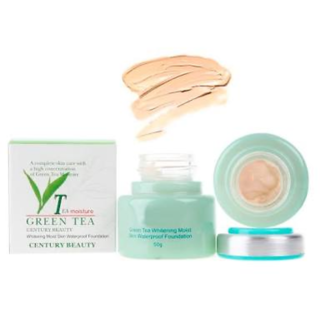 invisible green tea foundation for all skin complextion...