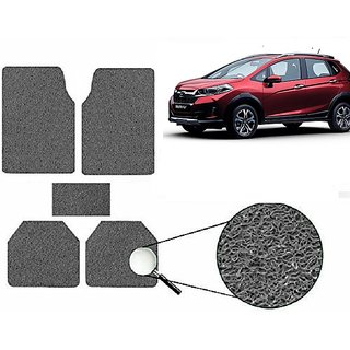 Autonity Anti Slip Noodle Car Floor Mats SET OF 5 Grey  For Honda WRV