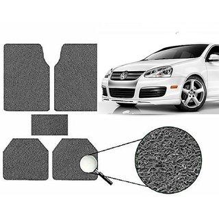 Autonity Anti Slip Noodle Car Floor Mats SET OF 5 Grey  For Volkswagen Jetta