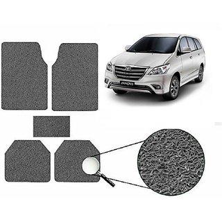 Autonity Anti Slip Noodle Car Floor Mats SET OF 5 Grey  For Toyota Innova