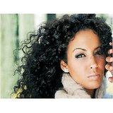 Virgin Vtip Indian Natural Curly Hair Natural Black12 Inch