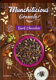 Munchilicious - Granola - Dark Chocolate - 500 gm