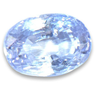 5.25 carat blue sapphire (neelam) 100 original gemstone by lab certified
