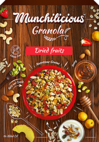 Munchilicious - Granola - Dried Fruits - 500 gm