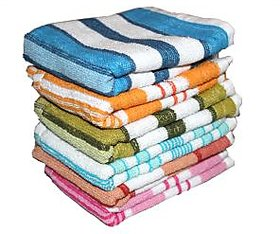 Set Of 5 Hand Towels