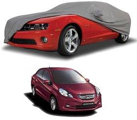 Water Resistant  Car Cover For Maruti Suzuki Alto-800 (Grey With Mirror )