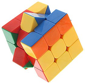 Montez Stickerless Magic Rubik Cube 3x3x3 High Quality