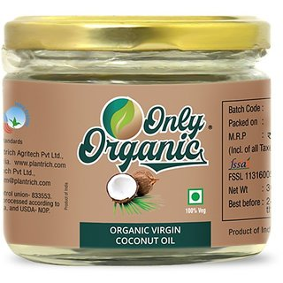 Only Organic Virgin Coconut Oil 300 ml
